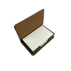 stainless steel PU name card holder men women metal card case organizer and business card box
