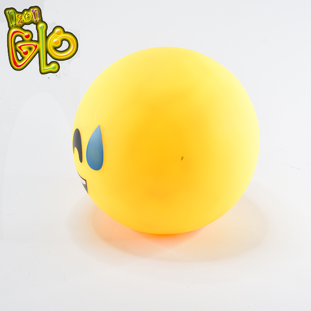 Kreative Nette Form Kinderzimmer Lampe LED Emoji Ball Nacht Licht Batterie
