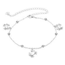 Женский ножной браслет Cxwind, Летний Пляжный браслет босиком на щиколотке с ракушками, Ювелирное Украшение(Китай)