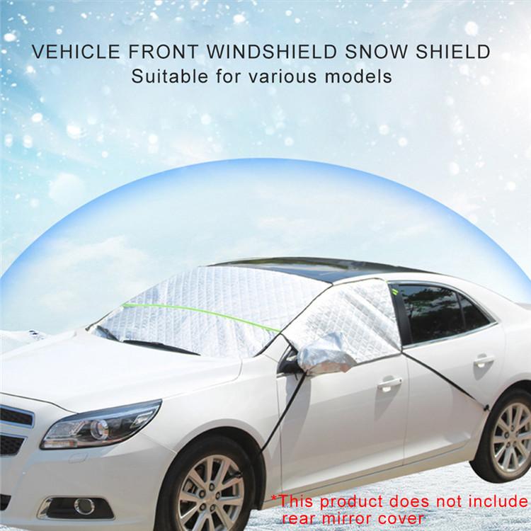 Wholesale Car Accessories Sun Visor Printing Car Windscreen Sunshade Half cover Front Gear Windshield Car Sun Shade
