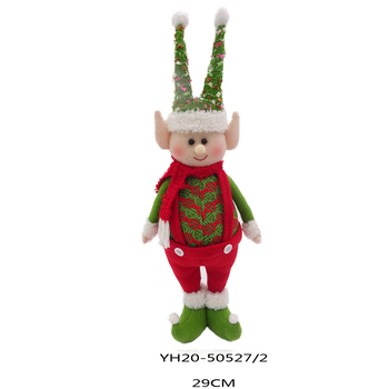 Plush elves christmas 29cm Standing Christmas elf shelf a christmas tradition