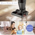 New Design 1600w Mite Bacteria Killing 3 In 1 Easy Clean Professional Steam Mop Cleaners Vacuum