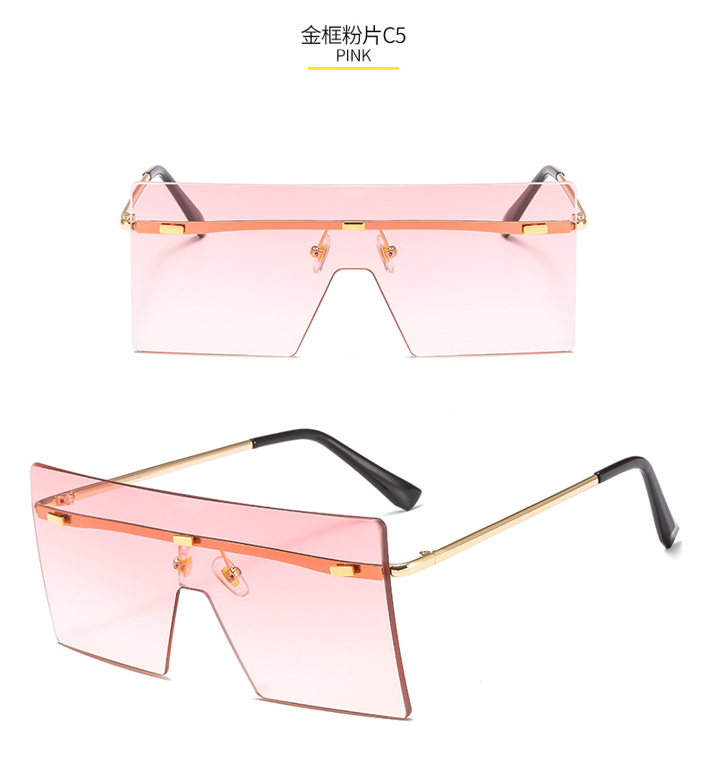 OT8587 moda remache sin montura tonos gafas 2020 de gafas de sol