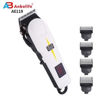 Anbo Professional Rechargeable Electric Hair Clipper Trimmer Cordless Hair Clippers Best Hair Clipper For Men Grooming Set