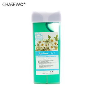 Organic 100g Azulene Wax Depilatory Roll On Depilatory Wax Strips Wax For Hair Removal