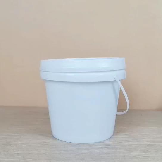 8 리터 플라스틱 양동이 뚜껑과