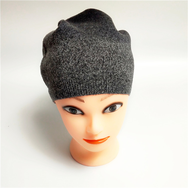 Knit cap winter warm cashmere hats cashmere knitted hat