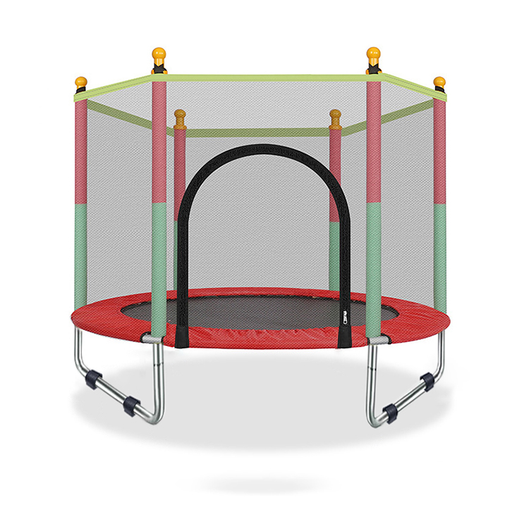 Mzone TUV GS CE Garden Round Cheap Big Outdoor Trampoline With Safety Net Enclosure for kids and children in U shape
