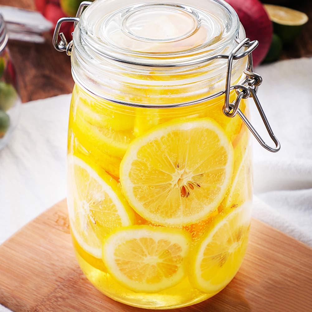 Nuevo diseño para canning contenedor de alimentos de vidrio tarro de pepinillos con precio bajo