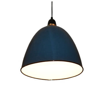 Germany marine craft hat shape navy blue metal baking finish ceiling lamp