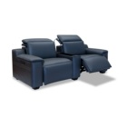 Furniture Leather Reclining Loveseat Royal Furniture 2 Seat Leather Reclining Loveseat With Console