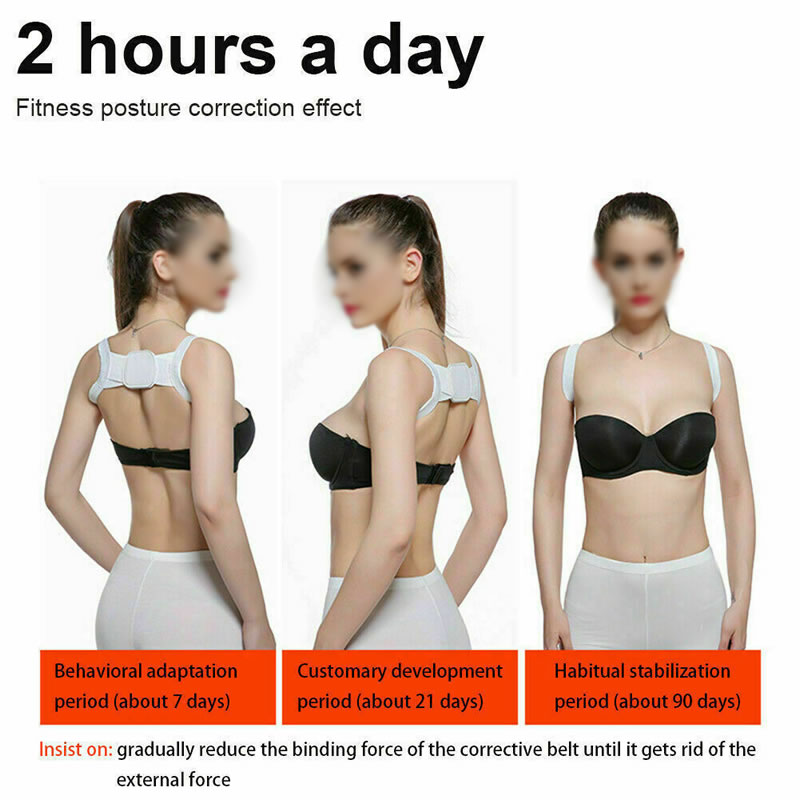 Best Selling Breathable Posture Corrector & Back Support Brace for Women and Men