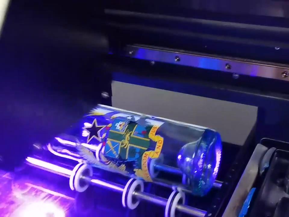 Refinecolor 2020 Hot New Digital 3D Verniz Garrafa Caso De Telefone A1 A2 A3 A4 Inkjet Flatbed Uv Levou de Impressora