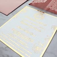 Unique Laser Cut Wedding Invitation Card Design Invitation Craft for Event