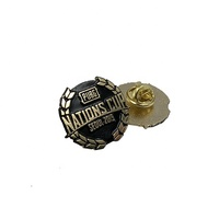 Promotional Customized Personalized Logo Metal Emblem Badge Lapel Pins