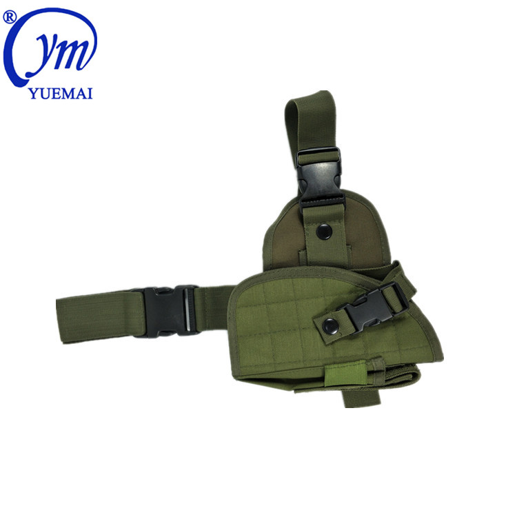 YUEMAI Factory Direct Custom Nylon Oxford Unisex Quick Draw Police Army Military Tactical Leg Gun Cover Holster for Pistol