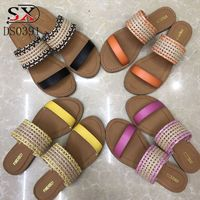Women's Sandals Fashion Lady Girl Sandals Summer Women Casual Shoes Sandals Cotton Out Mesh Flats