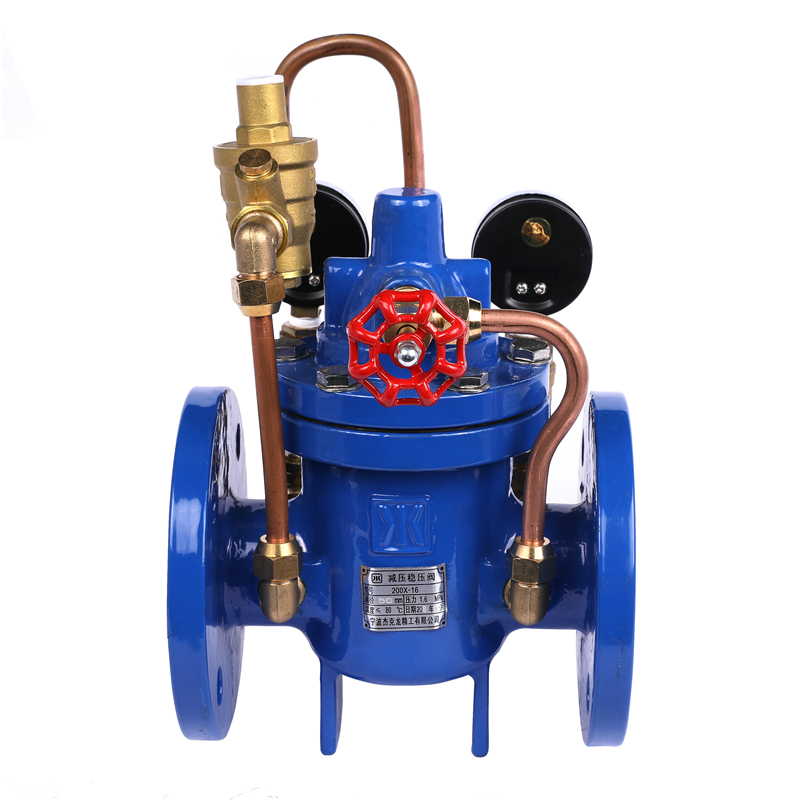 Ductile iron pressure reducing valve drawing hydraulic automatic float valve hydraulic water ball float control valves PRV