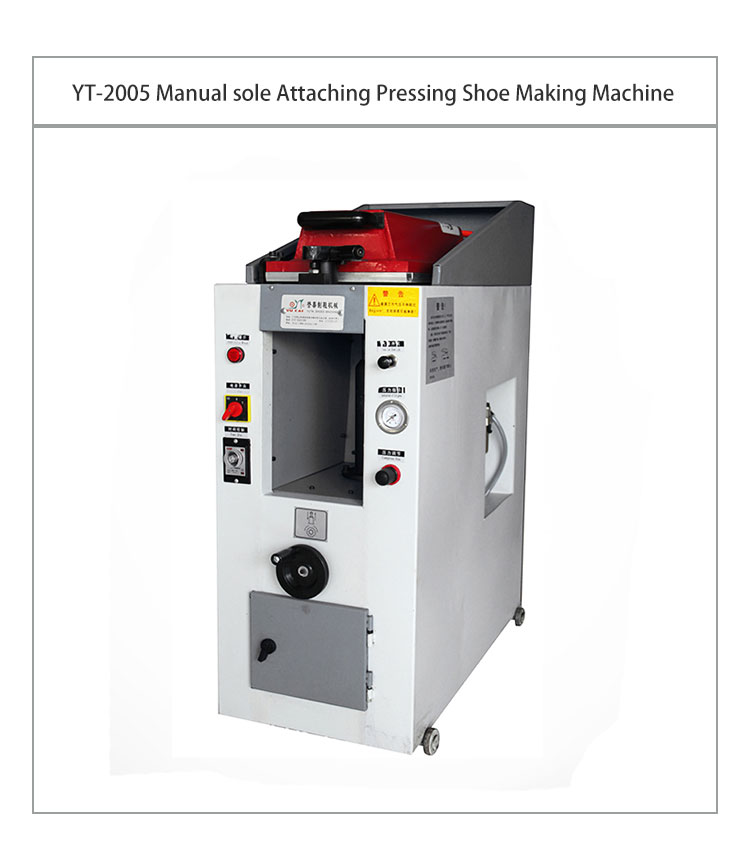 Yt-2005 High Efficiency Pvc Manual Hydraulic Shoe Sole Pressing Machine