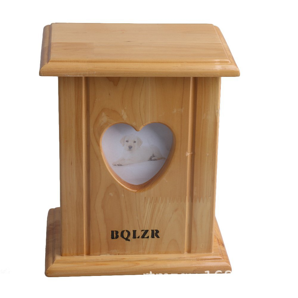 Roundfin pet cremation urn wooden boxes