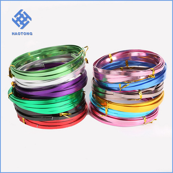 Sample Packing Flat Aluminum Craft Wire Buy Flat Aluminum Craft Wire 1x5 Anodized Flat Aluminum Wrap Craft Jewelry Wire Bead Landing 16 Gauge Flate