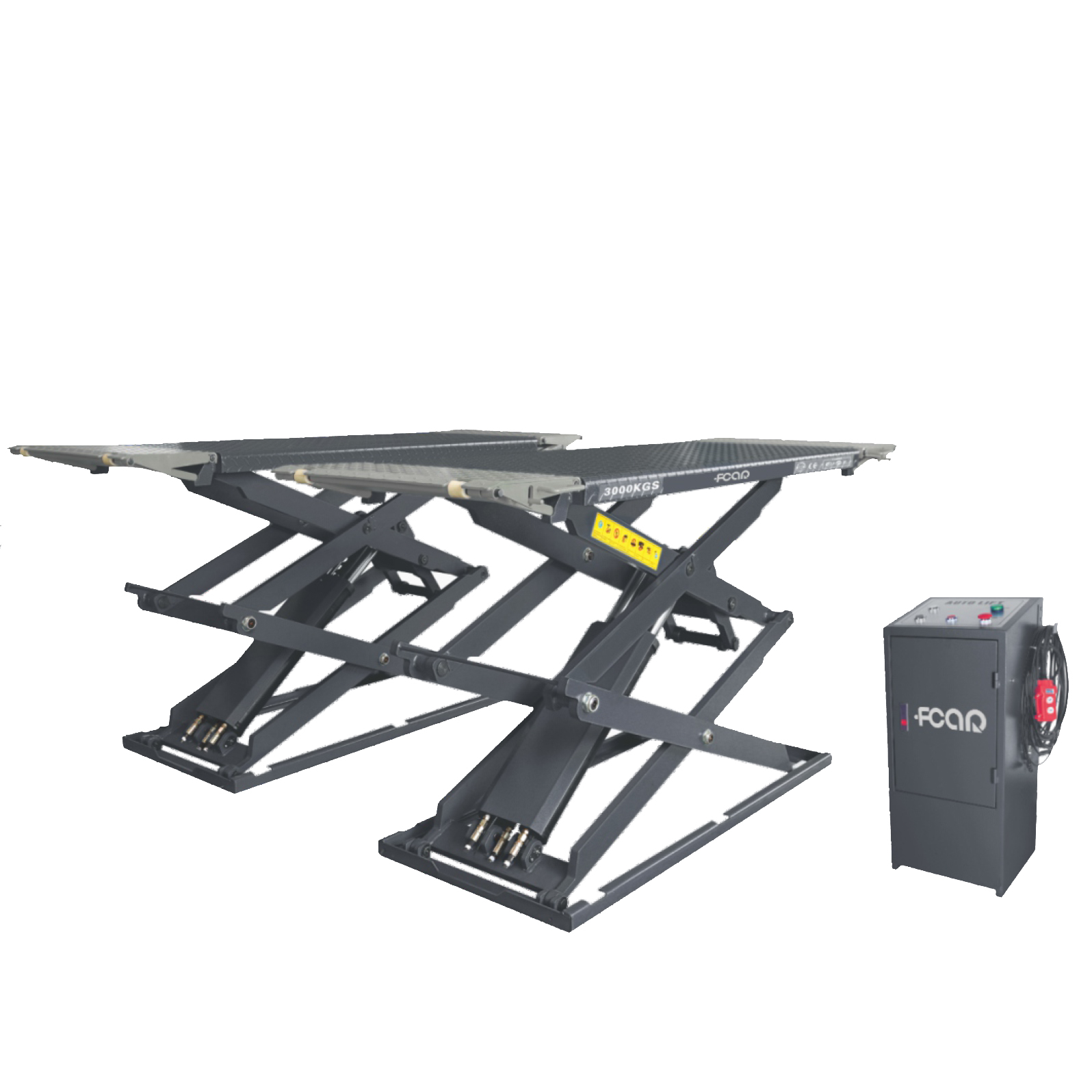 FCAR FC-35CBS 3.5 Tons Full Rise On-ground Scissor Lift Factory Direct Price 1850mm Lifting Height garage equipment and tools