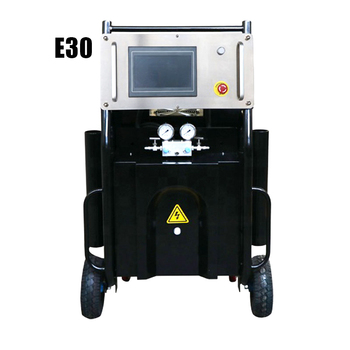 Customized Voltage E30 electrical driven polyurea spray foam machine