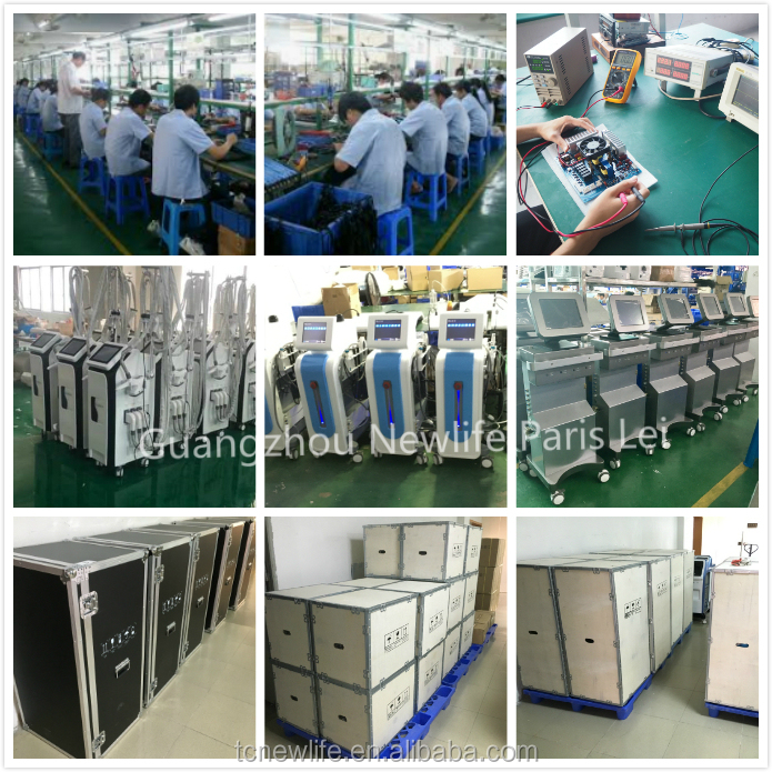 Cavitation and radio frequency  vacuum cavitation system body contour slimming machine