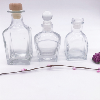 Fresh 100ml aromatic glass bottle reed diffuser home perfume