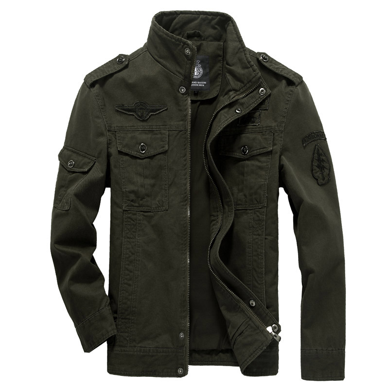 2019 Winter <strong>Military</strong> <strong>Style</strong> Men Outwear <strong>Jackets</strong> Size Plus Men Windbreaker Coat
