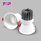 New products 5w 10w 15w 20w recessed anti glare led downlight factory wholesale indoor mini spotlight for home hotel
