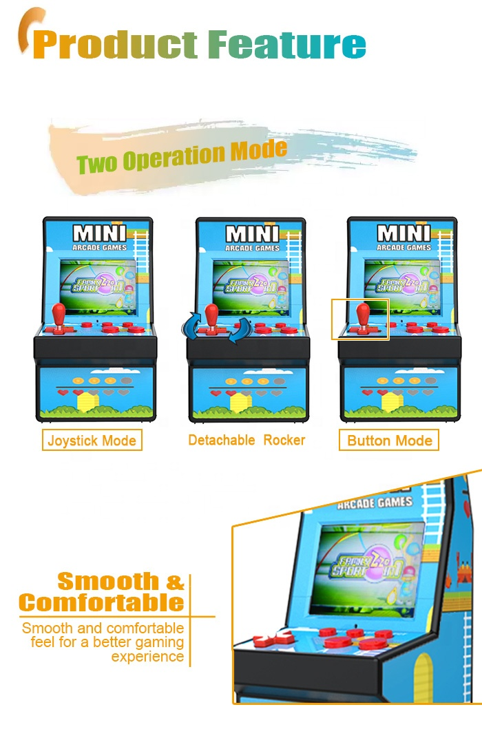 Mini Handheld Retro Jeux Video Juegos Arcade Game Gaming Videogames Console Consola Machine de China Videojuegos Juegos
