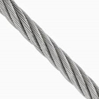 AISI 7x7 stainless steel wire rope 304/316 high tensile,quality coated with PVC,nylon use for balustrade&handrail