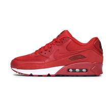 Оригинальные подлинные мужские кроссовки для бега NIKE AIR MAX 90, Дышащие Беговые кроссовки для бега, амортизирующие спортивные уличные кроссов...(Китай)
