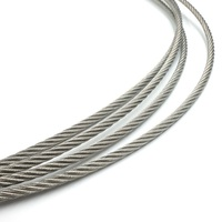 High tencity galvanized steel wire rope for towing boat
