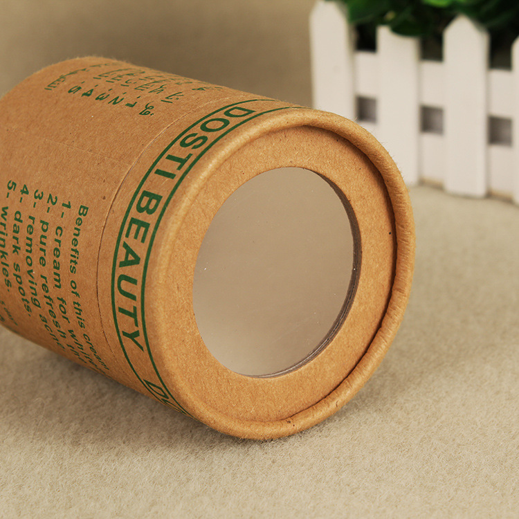 100% Recycled Cylinder Cardboard Paper Tube/Packaging Cardboard Candle paper tube