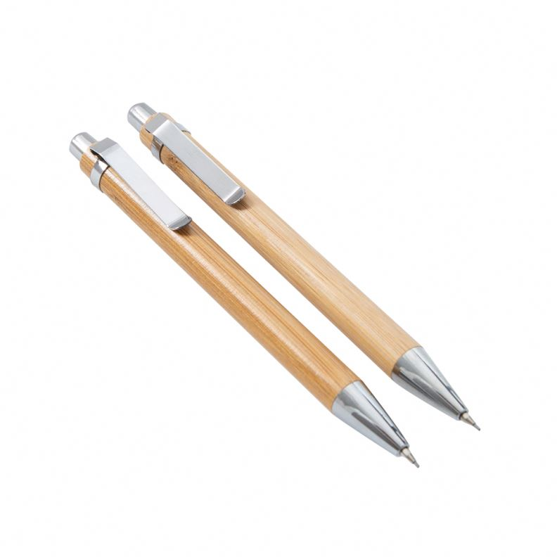 School Briefpapier Leveringen Bamboe Pen Bamboe Pen Vulpotlood Set