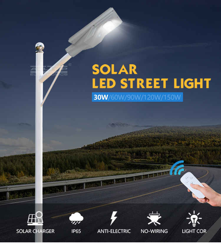 ALLTOP solar powered streetlight functional supplier-5