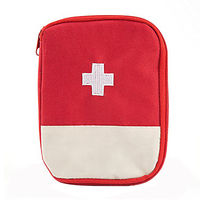 Empty First Aid Pouch Mini Emergency Medical Bag Easy-carrying Trauma kit For Outdoor Camping Travel Pack of 2 SK88206