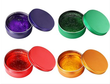 2019 Newest products disposable dyeing hair wax color solid wax