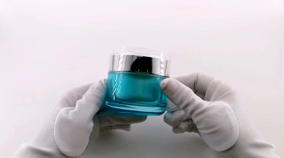 Trasporto del campione 20g acrilico a doppia parete cosmetic empty jar