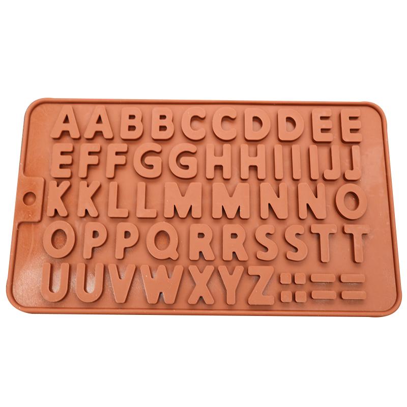 DIY क्रिस्टल ड्रॉप अक्षरांकीय मोल्ड 26 अंग्रेजी अक्षरांकीय मोल्ड उच्च दर्पण राल सिलिकॉन मोल्ड epoxy दर्पण