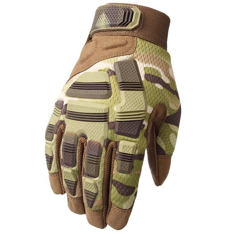High Quality Non-Slip Camouflage Army Green Outdoor Racing Glove Cycling <strong>Riding</strong> Gloves <strong>Motorcycle</strong>