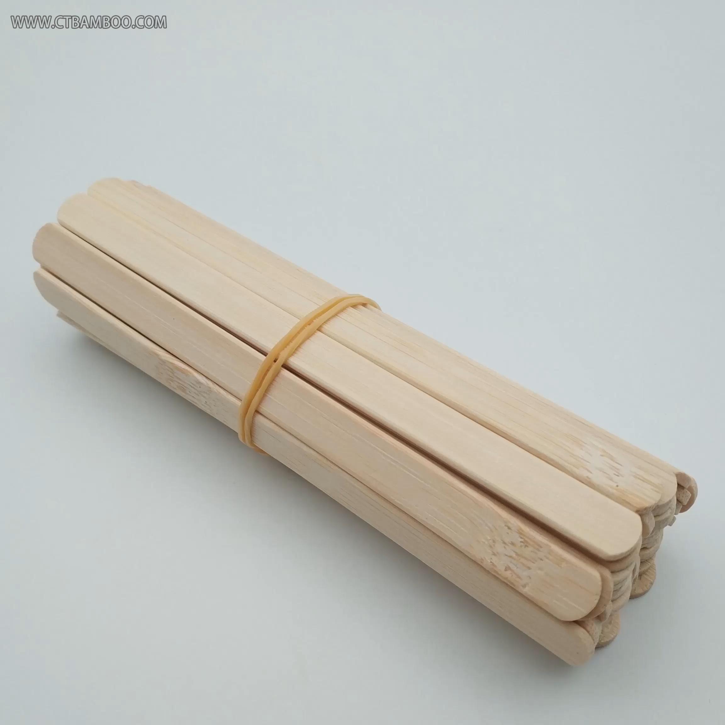Wooden bamboo Beauty Wax Hair Removal Stick Depilatory Wax Bikini Stick