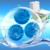 High Quality toilet cleaner blocks Deodorizer Blue Solid Bubble Block Toilet Bowl Cleaner