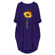 VICABO, женские платья в стиле фонариков, повседневное летнее платье с изображением слона, кота, солнца, цветка, 2020, свободная одежда, женское пл...(Китай)