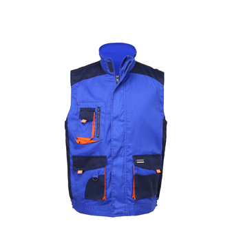 OEM High quality mens  military climbing camping  fishing multi-pocket vest  dirty resistance blue vest