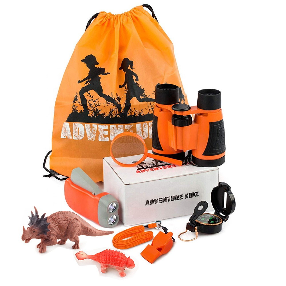 Outdoor Kit Speelgoed voor Kinderen Set 10 in 1 Adventure Kid Camping Exploratie Speelgoed Outdoor Explorer Kit