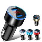 3.1A dual usb car-charger universal mobile phone car charger with led display