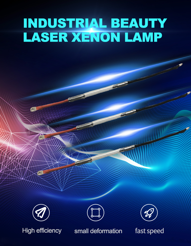 Laser flash  ipl  xenon lamp for beauty machine